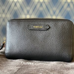 Tom Ford leather clutch/wristlet